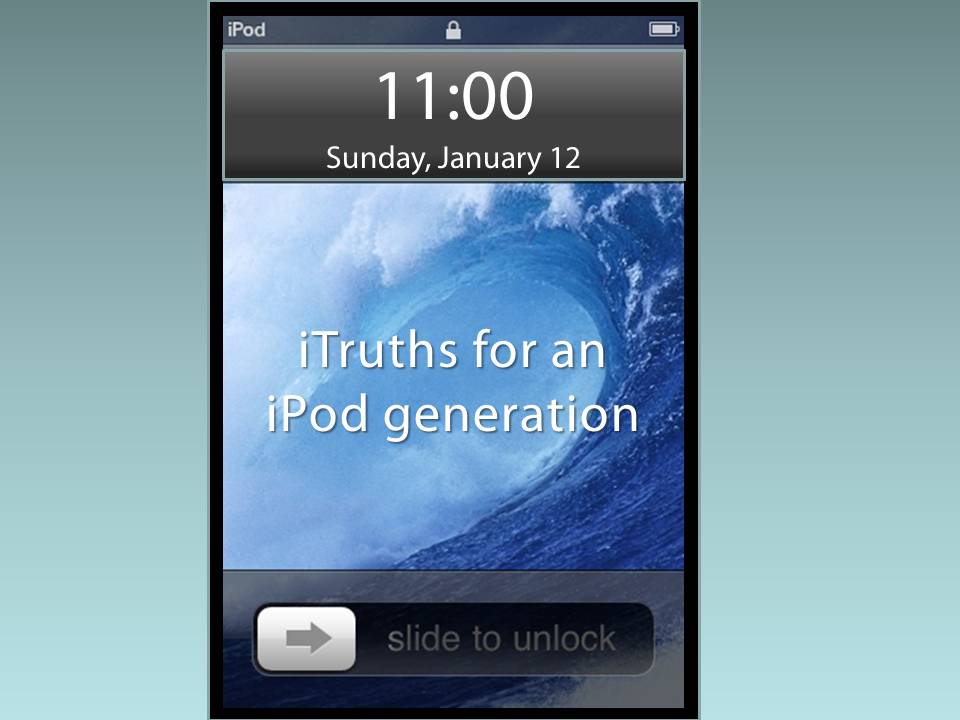 iTruths For An iPod Generation:  iSurrender